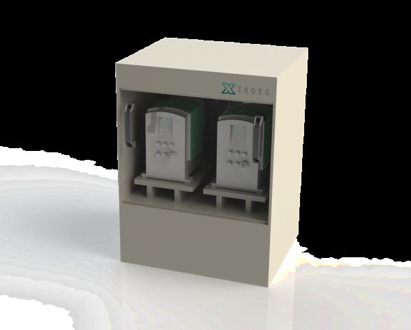 Enclosed Chemical Dosing Pump Cabinet
